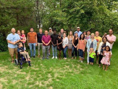 McCray Lab picnic 2019